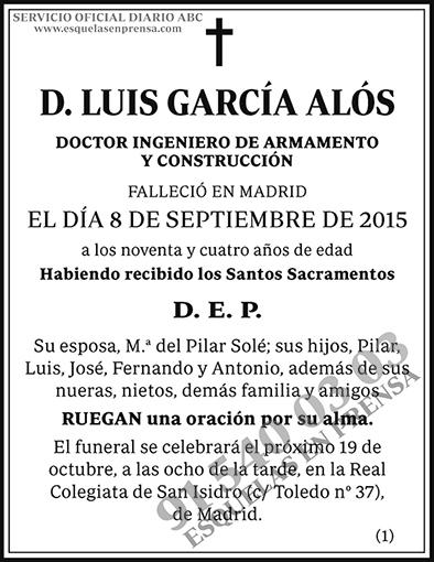 Luis García Alós